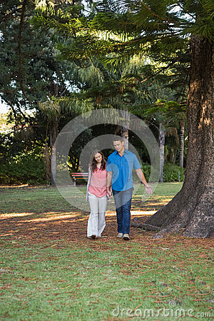 Par som går handen - in - hand