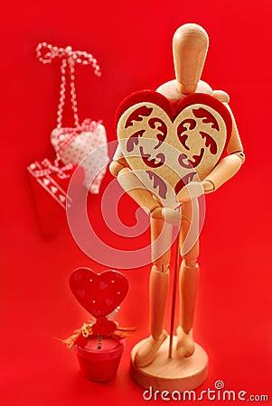 Para mi tarjeta del día de San Valentín