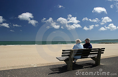 Para wyluzowanie emerytowany starszy