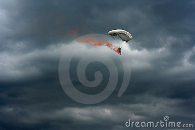 Paracadute Burning