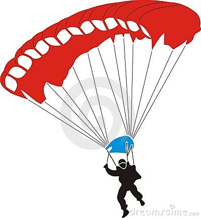 Free Parachute Royalty Free Stock Photography - 7351957