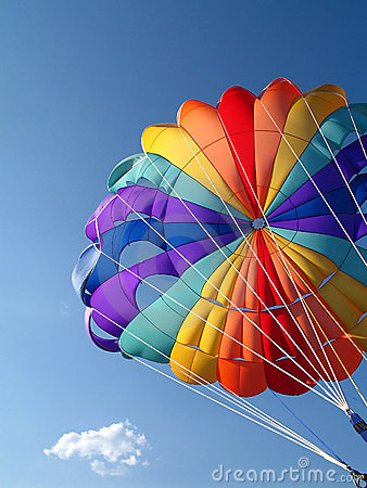 Free Parachute Detail Royalty Free Stock Images - 5025179