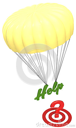 Parachute Help on question target