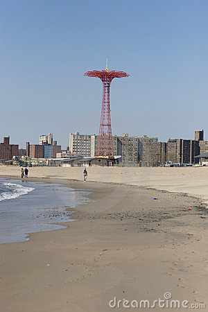 Parachute Jump on Coney Island