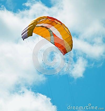 Parachute kite