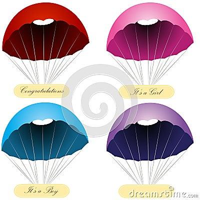 Parachute Message Labels
