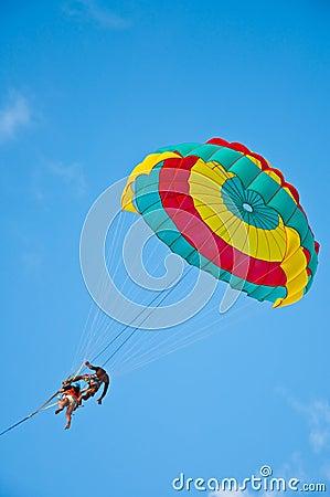 Free Parachute Phuket Royalty Free Stock Photos - 17978948