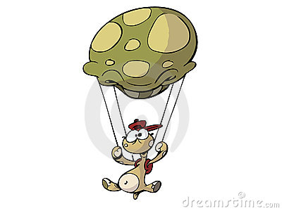 Parachute turtle