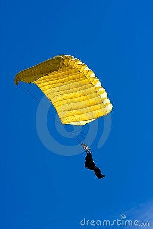 Free Parachuter Royalty Free Stock Images - 17910589