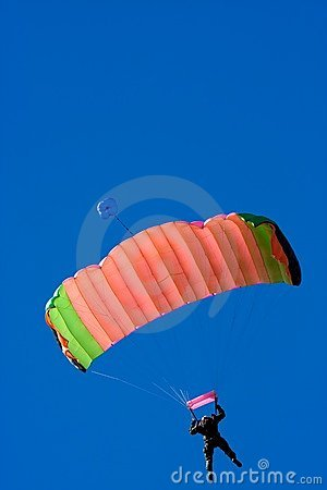 Free Parachuter Stock Photo - 17910590
