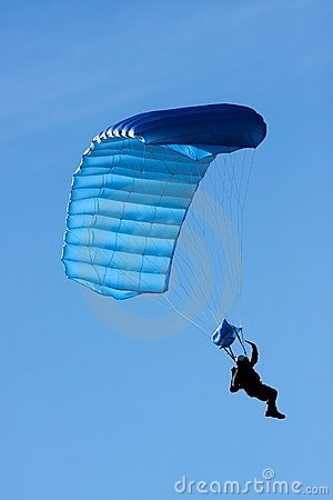 Free Parachuter Stock Photo - 18056170