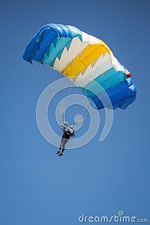 Free Parachutist Stock Photo - 32334250