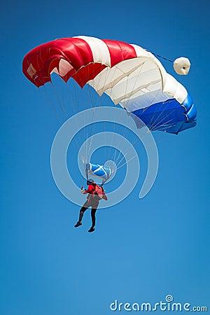 Free Parachutist Royalty Free Stock Photography - 47988967