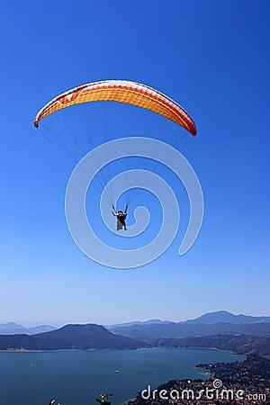Free Parachutist Stock Images - 8777894