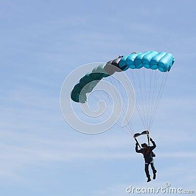 Free Parachutist Royalty Free Stock Images - 982139