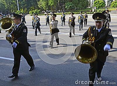 Parade 17 Editorial Stock Image