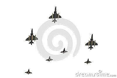 Parade of Air Force of Israel.