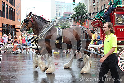 Parade on Broadway in Nashville, Tennessee Editorial Photography