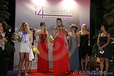 Parade Curvy Can July 1, 2011 Editorial Stock Photo