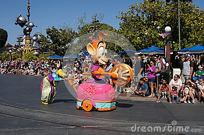 Parade at Disneyland Editorial Image