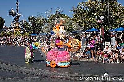 Parade at Disneyland Editorial Image