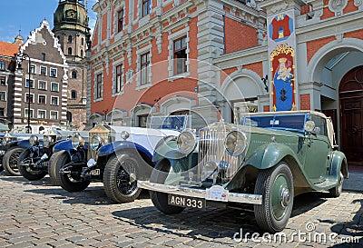Parade Rolls Royce. Editorial Photo
