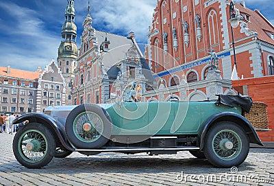 Parade Rolls Royce. Editorial Stock Photo