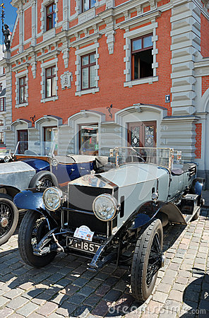 Parade Rolls Royce. Editorial Image