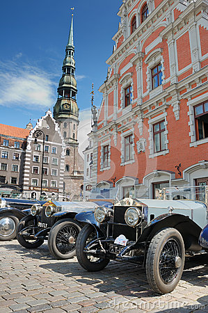 Parade Rolls Royce. Editorial Photography
