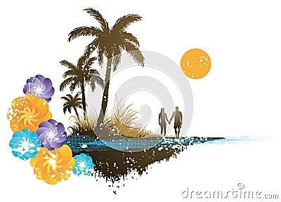 Paradis de palmier