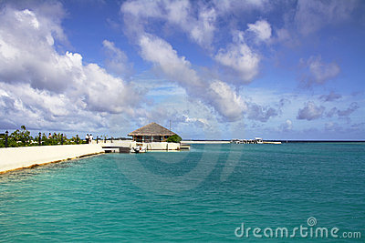 Paradise bay - Maldives