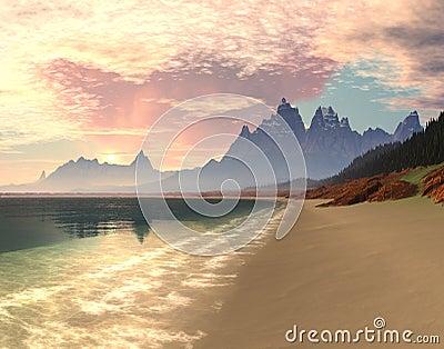 Paradise Bay Sunrise