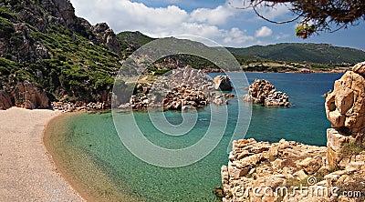Paradise beach on Sardinia