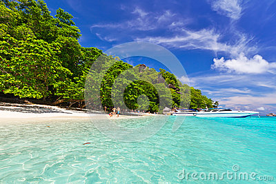 Paradise beach on Similan Islands