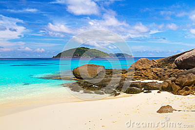 Paradise beach of Similan islands