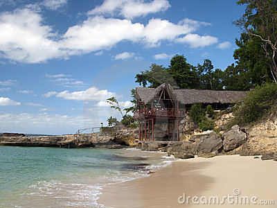 Paradise Island and beach