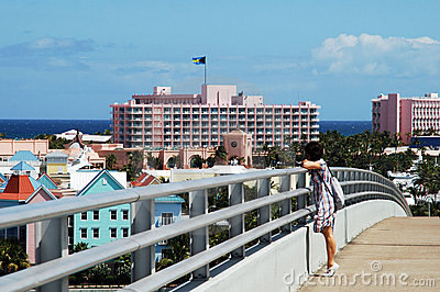 On Paradise Island Bridge