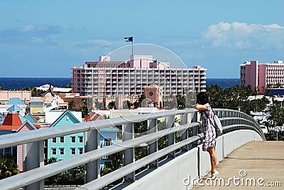 On Paradise Island Bridge