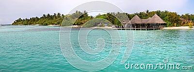 Paradise island panoramic