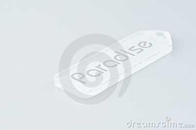 Paradise key tag
