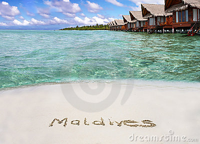Paradise of Maldives