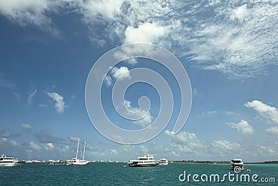 Paradise ocean of Republic of Maldives