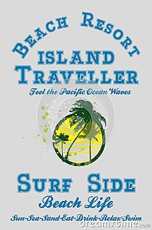 Paradise palm island
