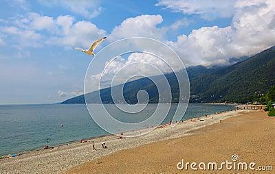 Paradise place. Abkhazia (Georgia)