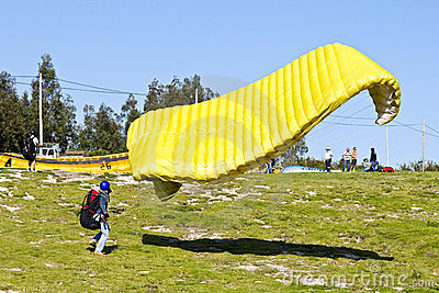 Paraglider Editorial Image
