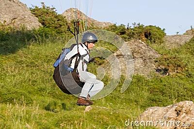 Paraglider Editorial Photo