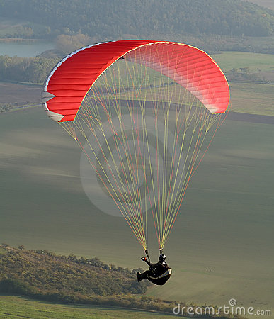Free Paraglider Royalty Free Stock Photo - 4017755