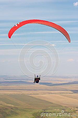 Paraglider pilot