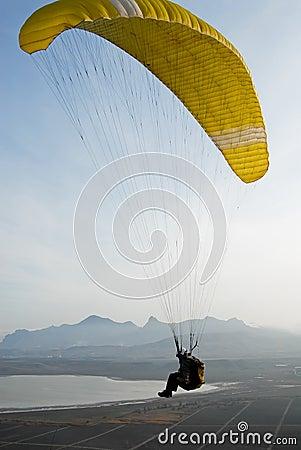 The paraglider pilot, Koktebel.