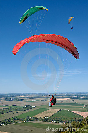 Free Paragliders Royalty Free Stock Images - 6637979